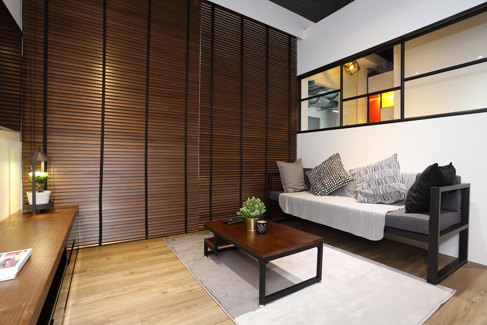 Monoloft's Design Studio Renovation Side Corner View