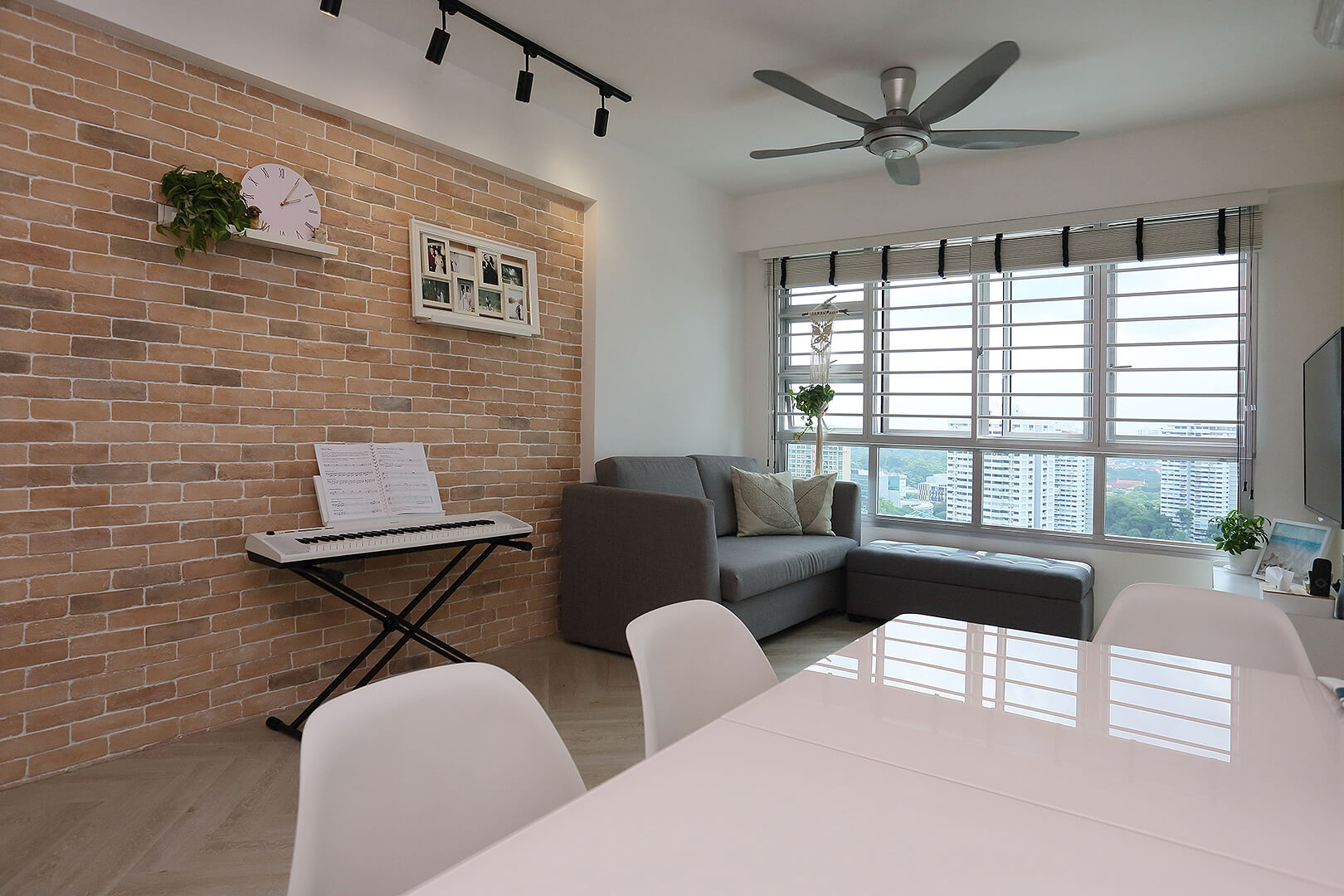 Scandinavian Interior Design Singapore Dining Area White Table