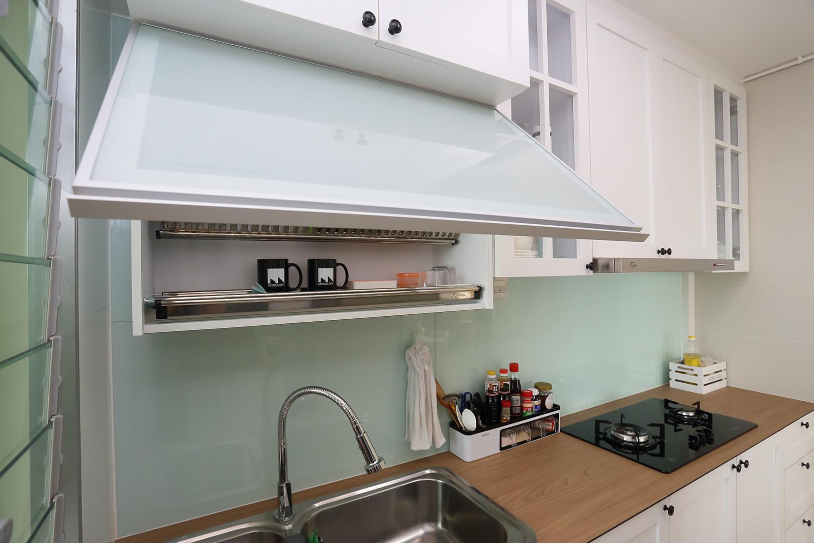 Scandinavian Interior Design Singapore Kitchen Top and Wares