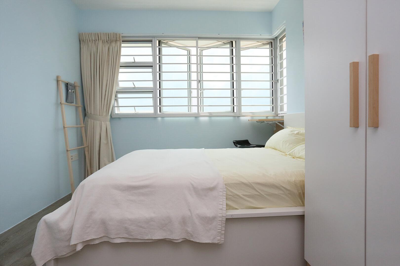 Scandinavian Interior Design Singapore Bedroom 2 Full View