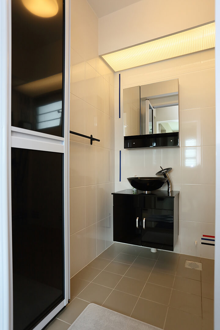 Neutral Colours Interior Design Washroom Lighting Ambience