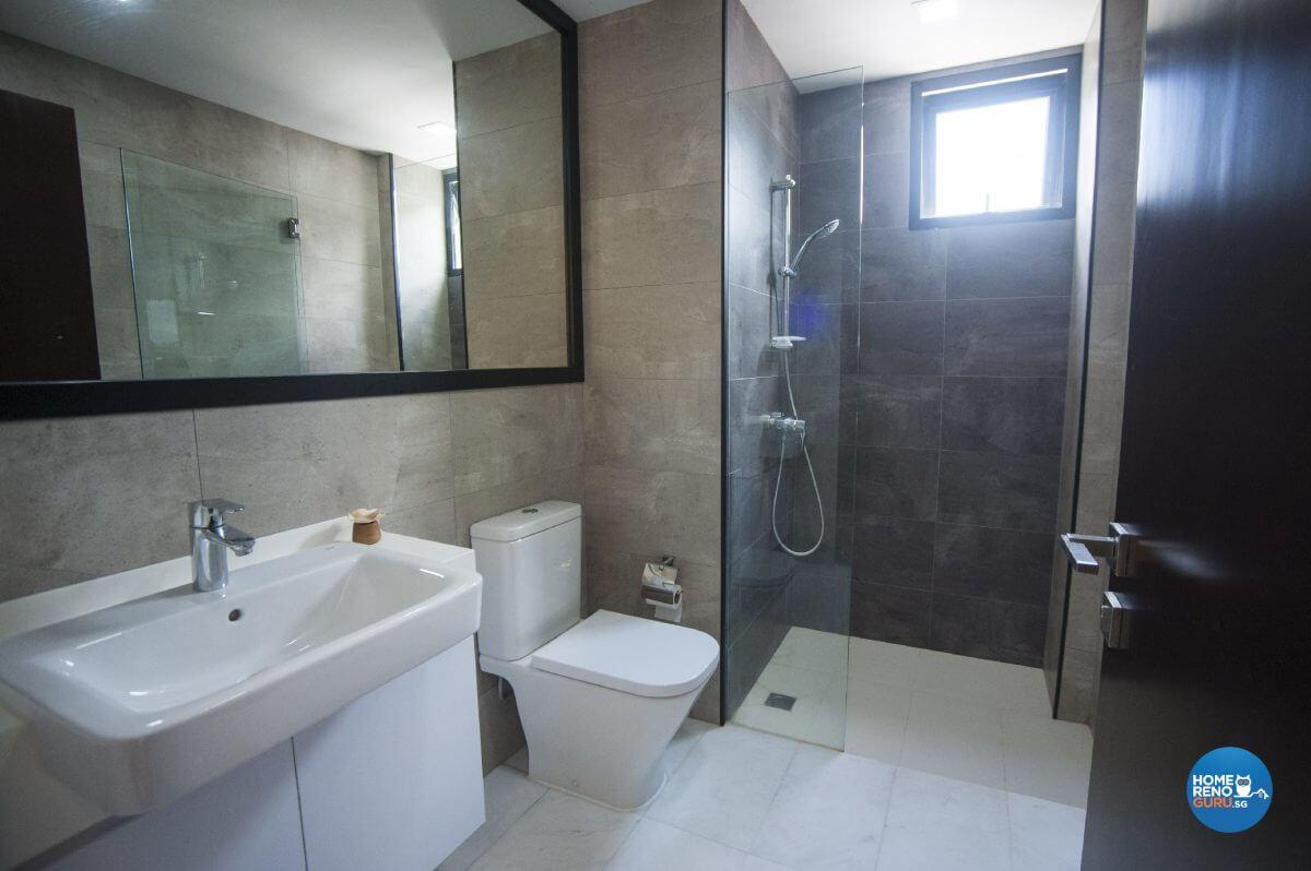 Pine And Grey Interior Design Master Washroom View