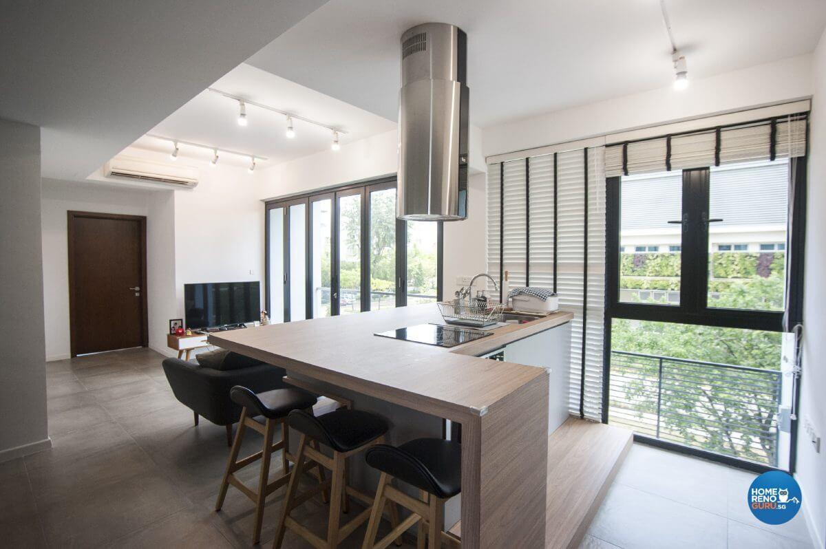 Pine And Grey Interior Design Dining Area