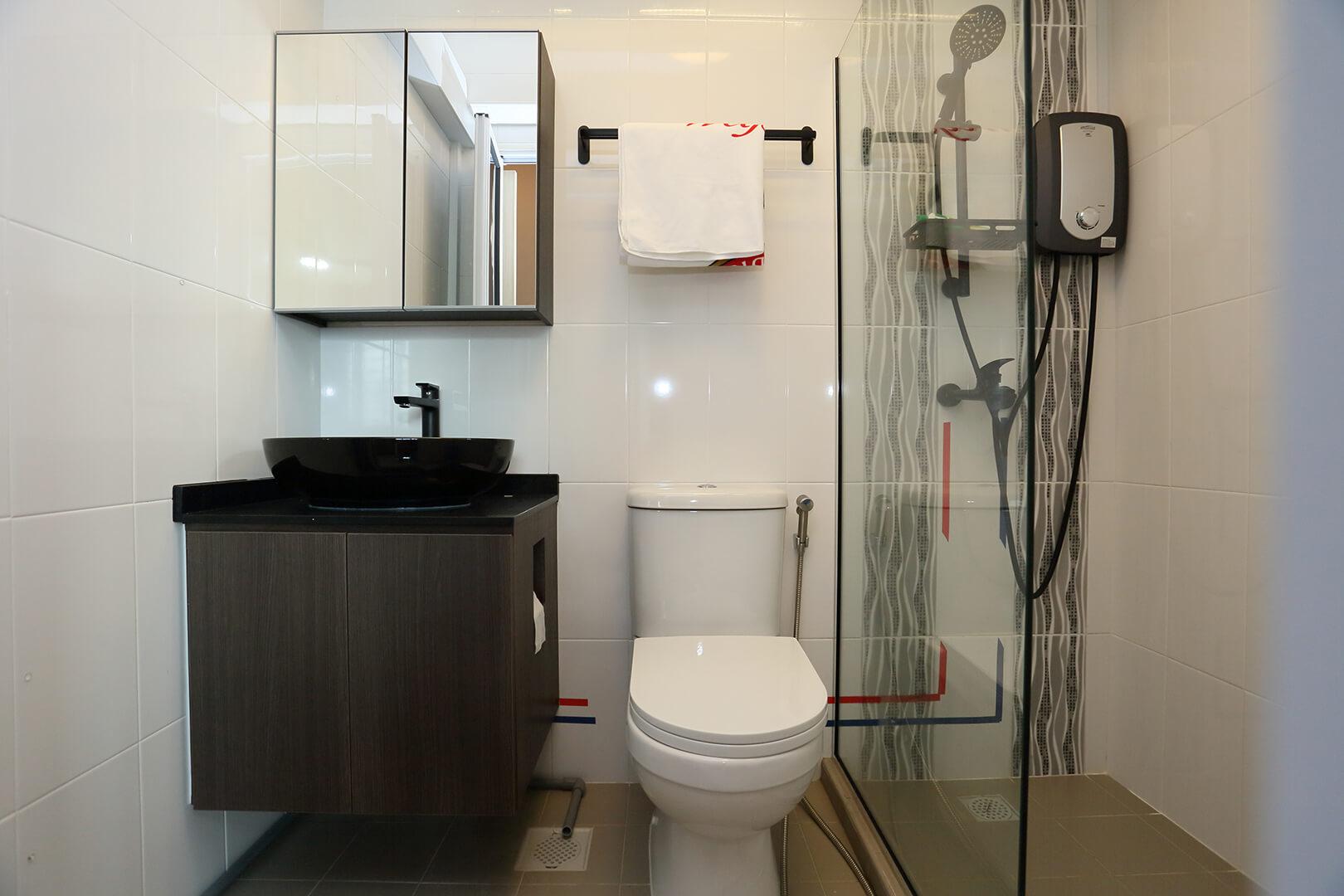 Neutral Colours Interior Design Bathroom Minimal View